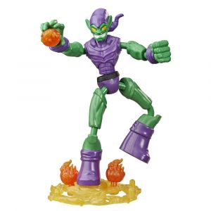 Marvel Spider-Man Bend and Flex Green Goblin Action Figure