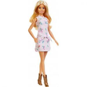 Barbie Fashionistas Doll Pink Shirt Dress Online in Abu Dhabi