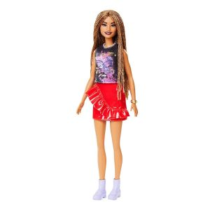 Barbie Fashionista Doll With Long Braided Hair 11in Online in UAE