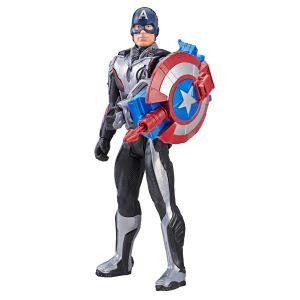 Marvel Avengers Endgame Titan Hero Power FX Captain America