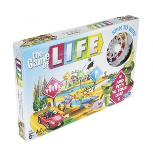 Hasbro The Game of Life Spin to Win