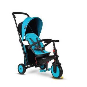 SmarTrike STR 3 Plus Kids 6-in-1 Compact Folding Stroller Blue Online in UAE