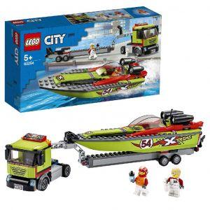 LEGO City Race Boat Transporter 60254