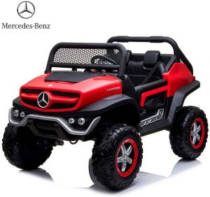 Mercedes AMG Unimog 4x4 Two Seat Ride On Car Red 7988