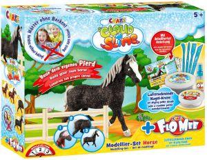 Craze Cloud Slime Meets Flo Mee Horse Set Online in UAE