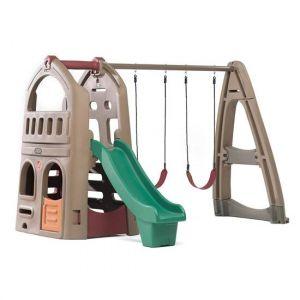 Shop Step2 Naturally Playful Playhouse Climber & Swing Extension