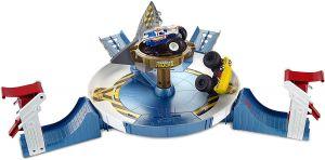 Hot Wheels Monster Trucks Mecha Shark Face-off Playset Online in UAE