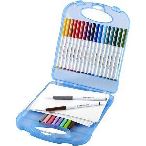 Crayola SuperTips Washable Marker & Paper Set 04-5226