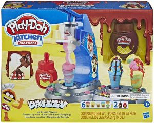 Play Doh Kitchen Creations Drizzy Ice Cream Playset E6688