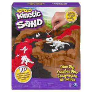 Kinetic Sand Dino Dig Playset with 10 Hidden Dinosaur Bones 6055874