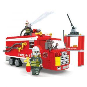 OX BLOCKS Large Fire Engine Dual 309 pcs 0306