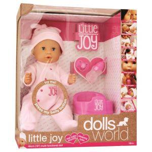 Dolls World Doll Baby Little Joy 46 cm  Pink 8888