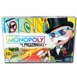 Monopoly for Millennials Edition Game