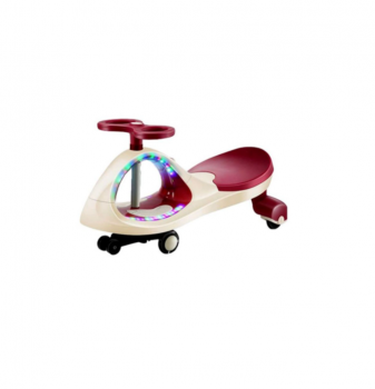 CoolBaby Swing Car with Light Red 618