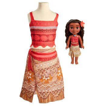Disney Princess Moana Adventure Dress and Doll 64442