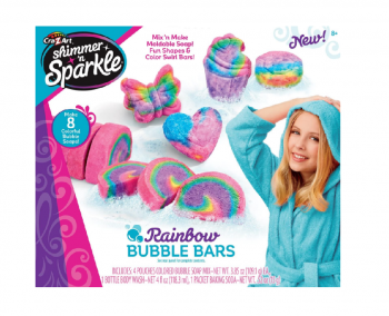 Shimmer n Sparkle Make Your Own Rainbow Bubble Bars