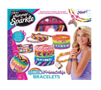 Shimmer N Sparkle Rainbow Friendship Bracelet Kit Online in UAE