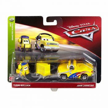 Disney Pixar Cars 3 Turbo Bullock And John Lassetire Online in UAE