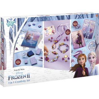 Disney Frozen II 3 In 1 Creativity Set - 681217