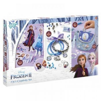 Disney Frozen II 3 In 1 Creativity Set - 681200