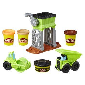 Play Doh Wheels Gravel Yard Construction Toy E4293