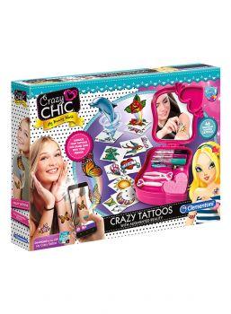 Clementoni Crazy Chic - Tattoos Creative Kit