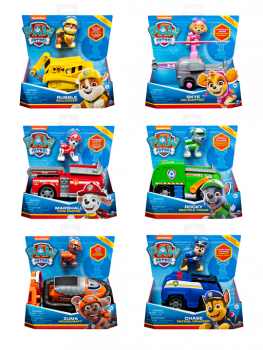 Paw Patrol - Deluxe Basic Vehicles Assorted 6060298