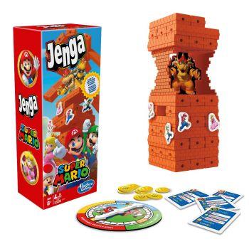 Hasbro Jenga Super Mario Edition Board Game E9487