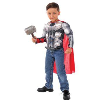 Marvel Comics Thor Ragnarok Thor Muscle Chest Shirt & Hammer Set - G34104