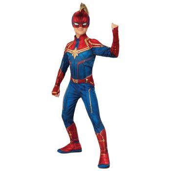 Rubies Captain Marvel Hero Costume Suit Small - 700594-S