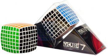 V-Cube 7 White Pillowed Multicolor Cube Puzzle