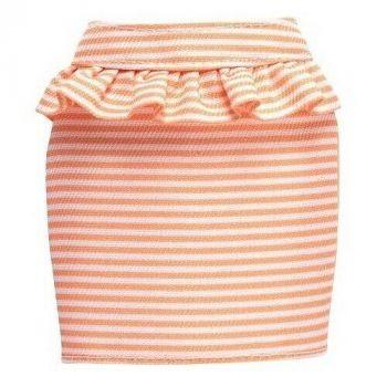 Barbie Peplum Skirt Fashion Pack- Peach Stripes
