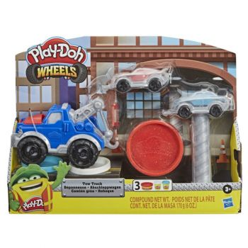 Play Doh Wheels Tow Truck Toy Playset E6690