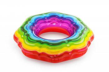 Bestway Rainbow Ribbon Tube 115cm Online in UAE