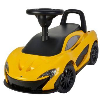Megastar Licensed Ride On McLaren Push Car Yellow Online in UAE