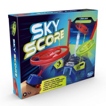 Sky Score Game Launch and Score Game With Spinners