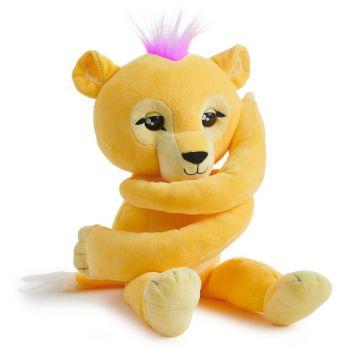 Fingerlings HUGS Sam Interactive Plush Lion - Color Land Toys