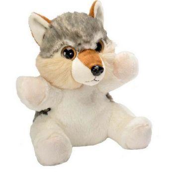 Wild Republic Hand Puppet Soft Plush Wolf 10inch
