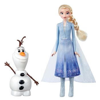 Disney Frozen Talk and Glow Olaf and Elsa Doll
