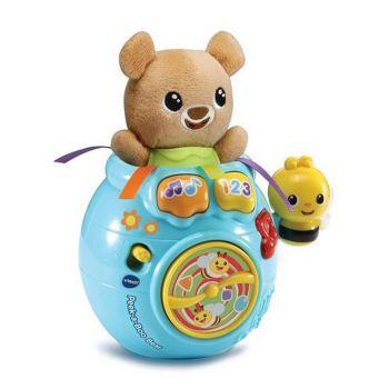 Vtech Peek-a-Boo Bear in a Honey Pot