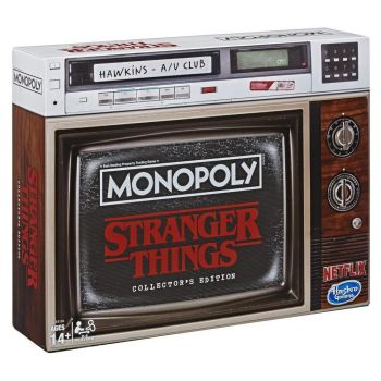 Monopoly Game Stranger Things Collectors Edition Board Game Online in UAE