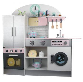 Wooden Refrigerator Kitchen Playset MSN19033