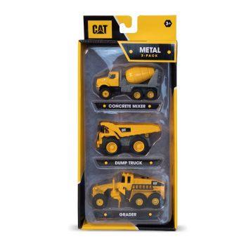 CAT Metal Machines 4inch 3 Pack Assortment