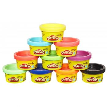 Play Doh Party Tube 10 Pack 22037