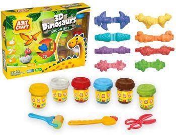 Dede Art Craft 3D Dinosaurs Dough Set 03361