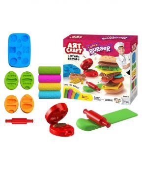 Art Craft Hamburger Dough Set 200 Grams 03554