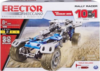 Meccano 10 in 1 Rally Racer - Color Land Toys