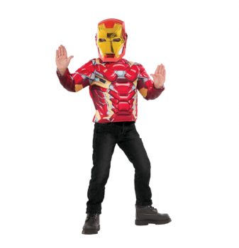Iron Man Deluxe Costumes Light up