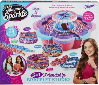 Cra-Z-Art Shimmer & Sparkle Ultimate Friendship Bracelet Maker