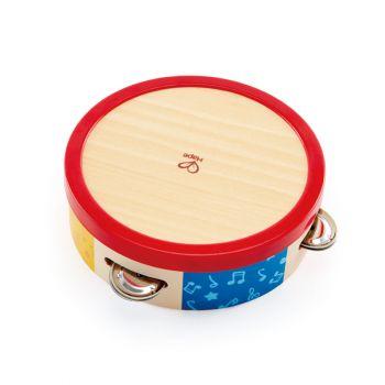 Hape Wooden Tap Along Tambourine